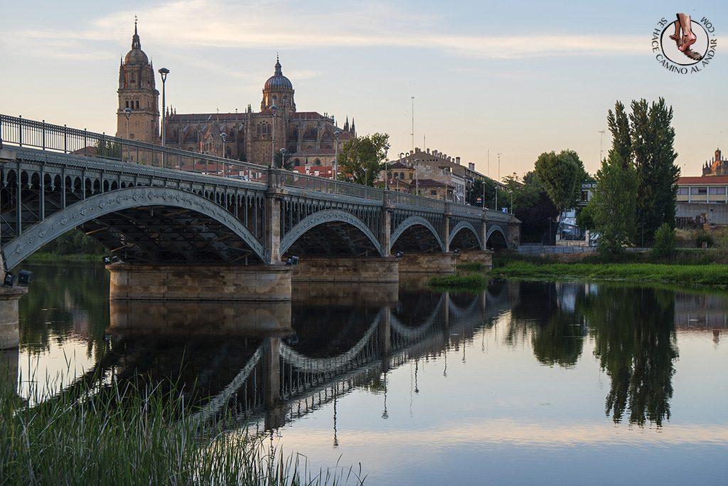 Que ver en Salamanca Puente Enrique Estevan dia