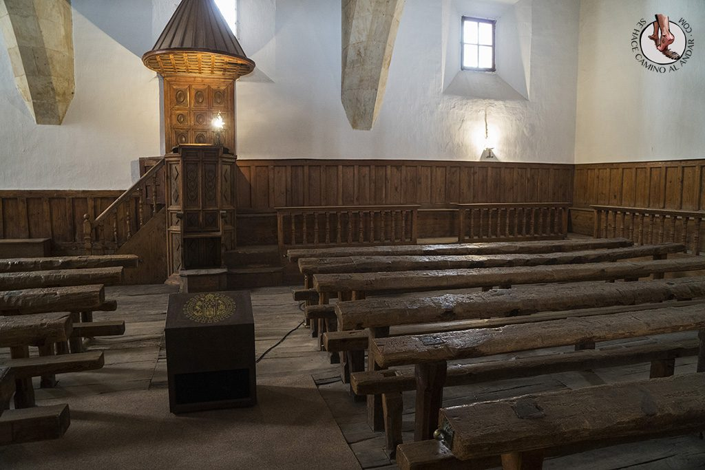 Que ver en Salamanca Universidad aula antigua