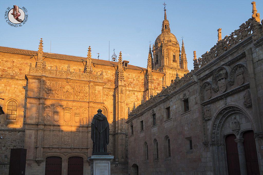 Que ver en Salamanca patio escuelas menores