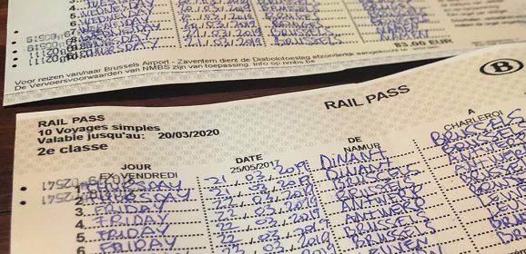 Rail pass, el billete de tren para moverse por Bélgica