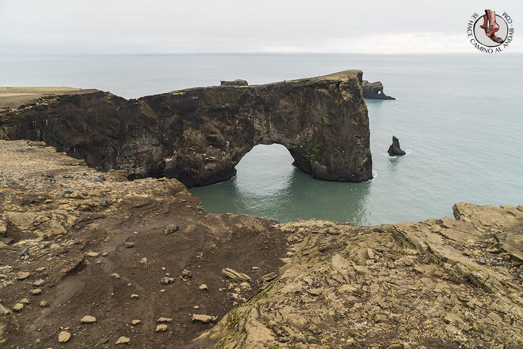 Ring Road 2-7 Dyrholaey arco roca