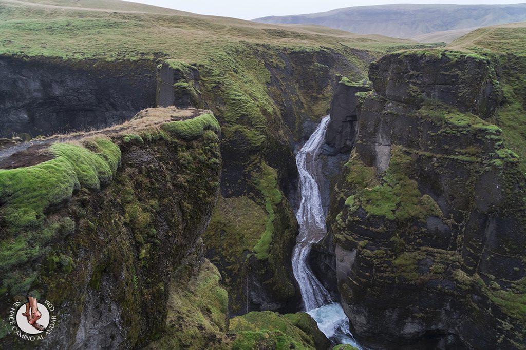 Ring Road 2-7 Fjardarargljufur cascada