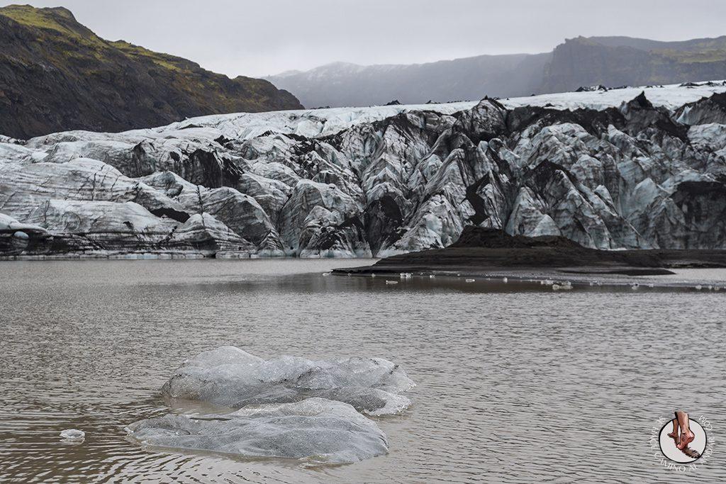Ring Road 2-7 Glaciar Solheimajokull hielo