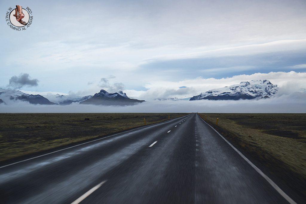 Ring Road 2-7 carretera montana nieve