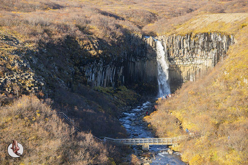 Ring Road 3-7 Cascada Svartifoss ubicacion