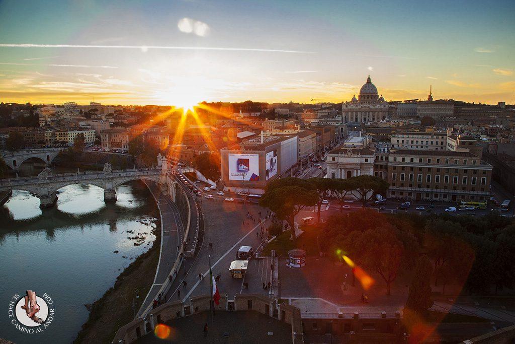 qué ver en Roma Castillo Sant'Angelo