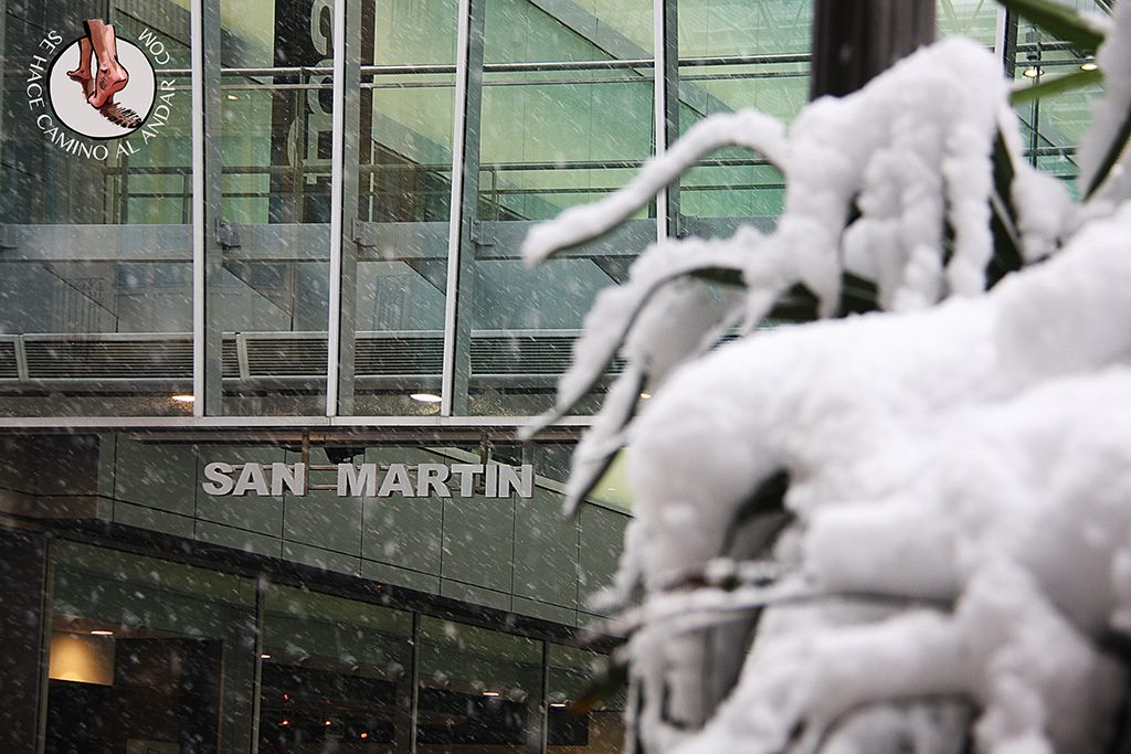 San Martin nieve