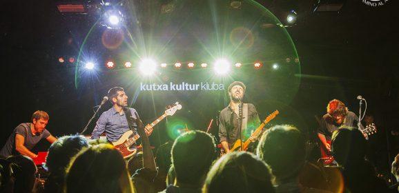 Sidecars en el Kutxa Kultur Kluba de San Sebastián