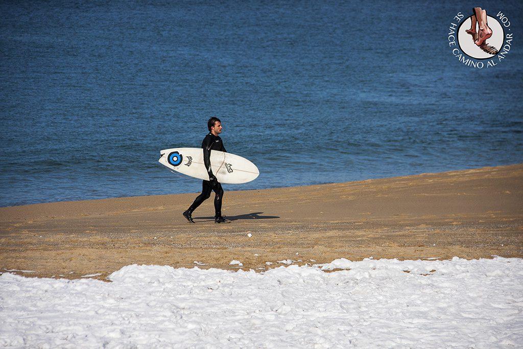 Surfista nieve
