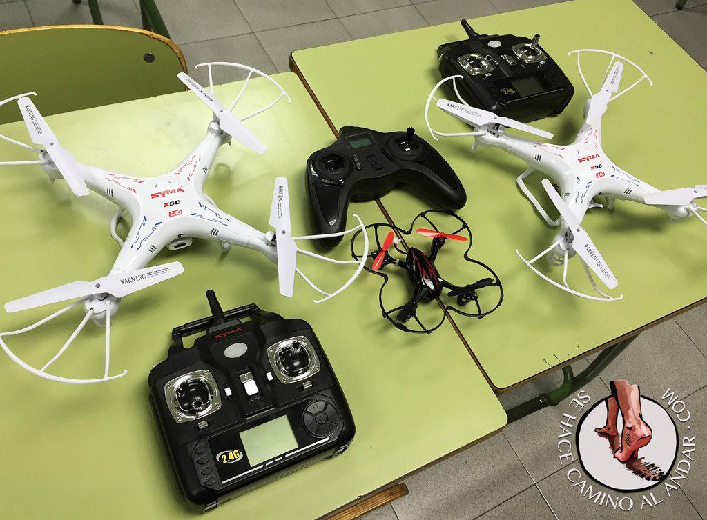 Drone de juguete Syma X5C para aprender a volar