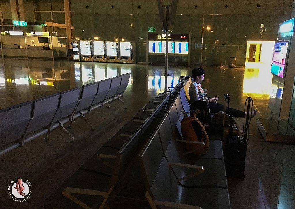 Television aeropuerto Barcelona