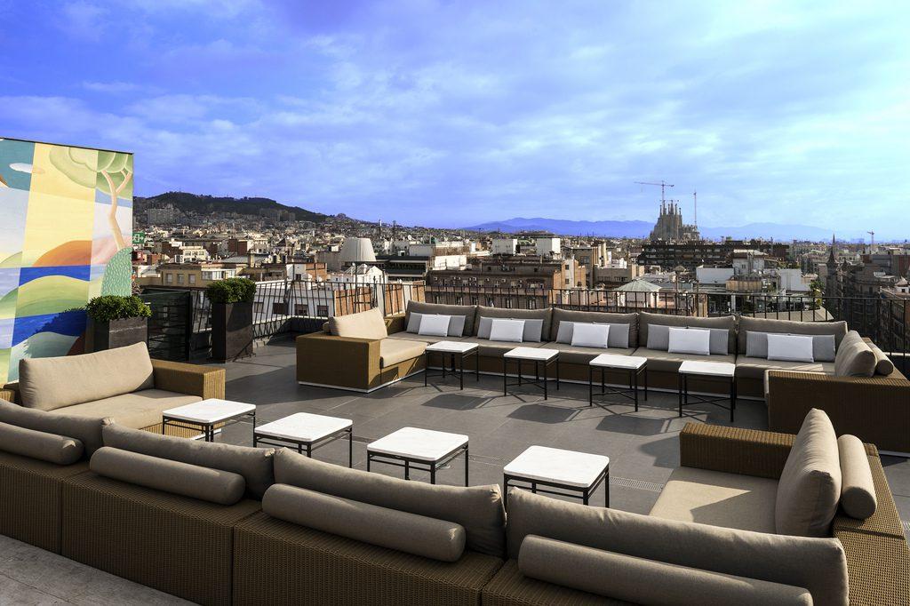 Terraza Hotel Majestic Barcelona