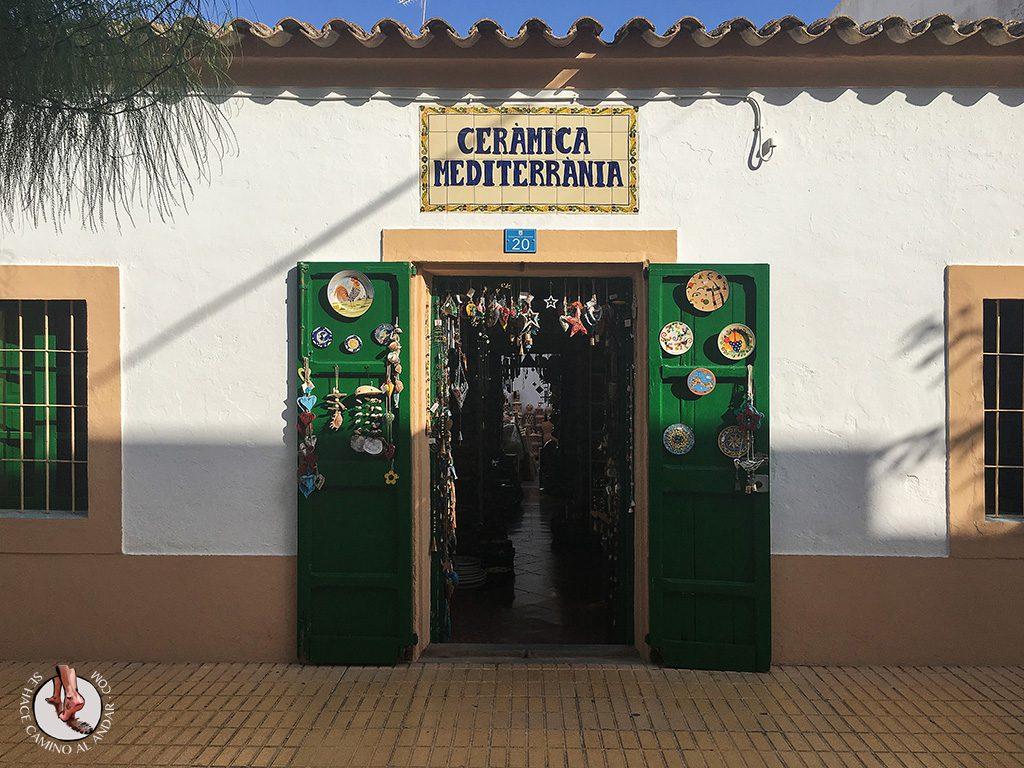 Tienda artesanía Formentera