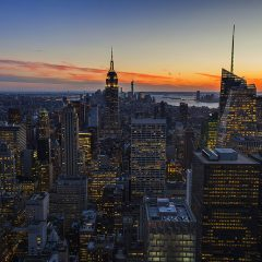 Postal viajera: Amazing view of NYC from the Top of the Rock