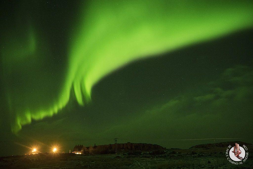 Tormenta geomagnetica Islandia