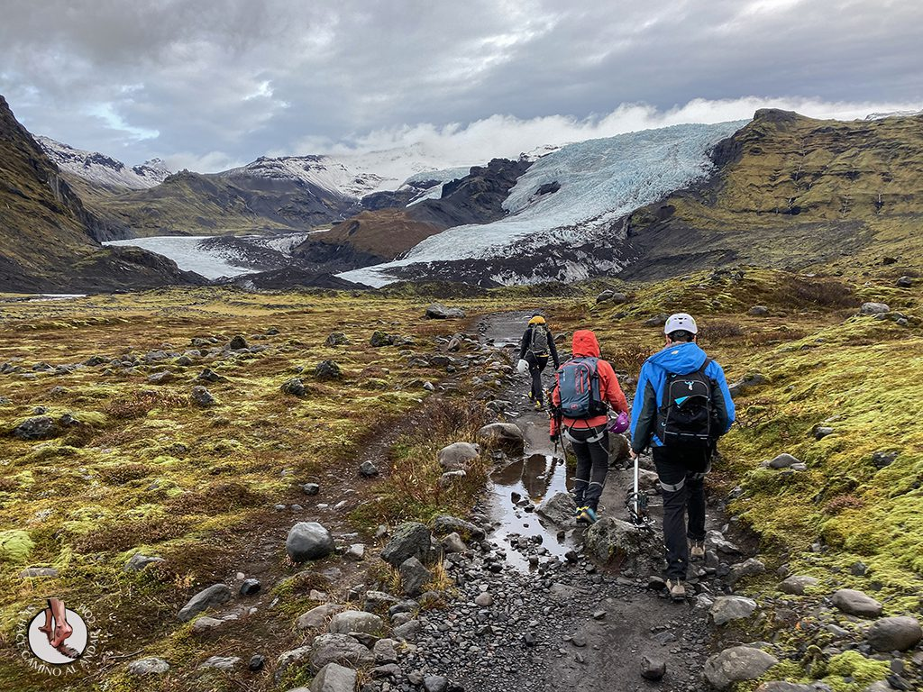 Trekking glaciar Virkisjokull ida