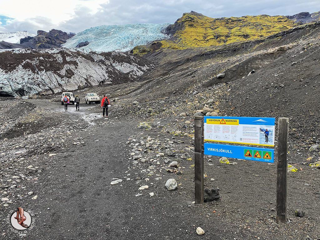 Trekking glaciar Virkisjokull prohibiciones