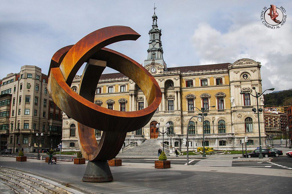 Txapela Oteiza Ayuntamiento Bilbao