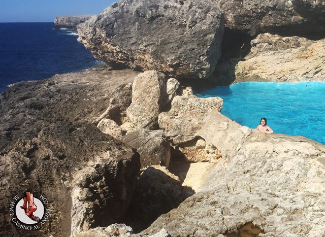 Una piscina natural escondida entre las rocas de Mallorca 10