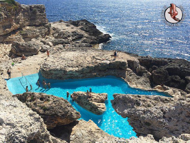 Una piscina natural escondida entre las rocas de Mallorca 2