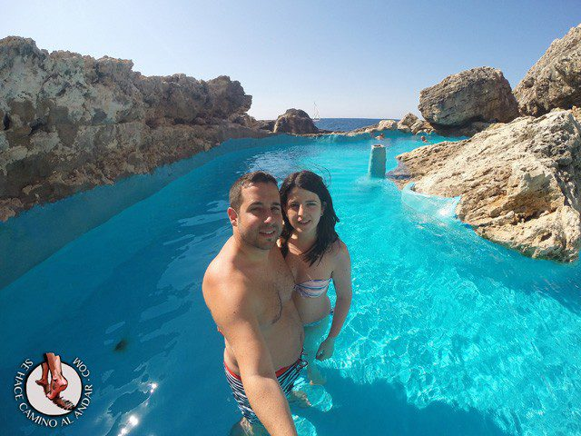 Una piscina natural escondida entre las rocas de Mallorca 3