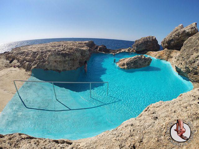 Una piscina natural escondida entre las rocas de Mallorca 4