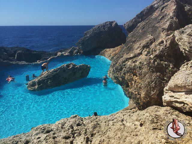 Una piscina natural escondida entre las rocas de Mallorca 5