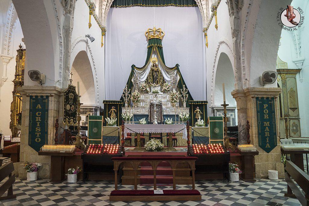 Vejer de la Frontera Iglesia Divino Salvador interior