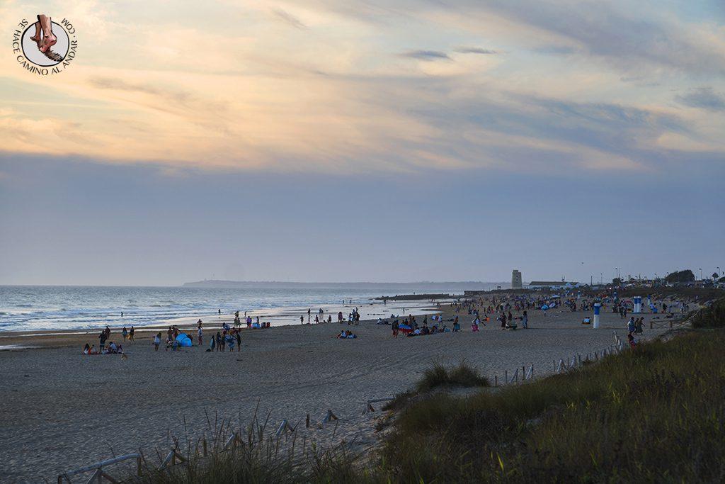 Vejer de la Frontera playa el palmar ambiente