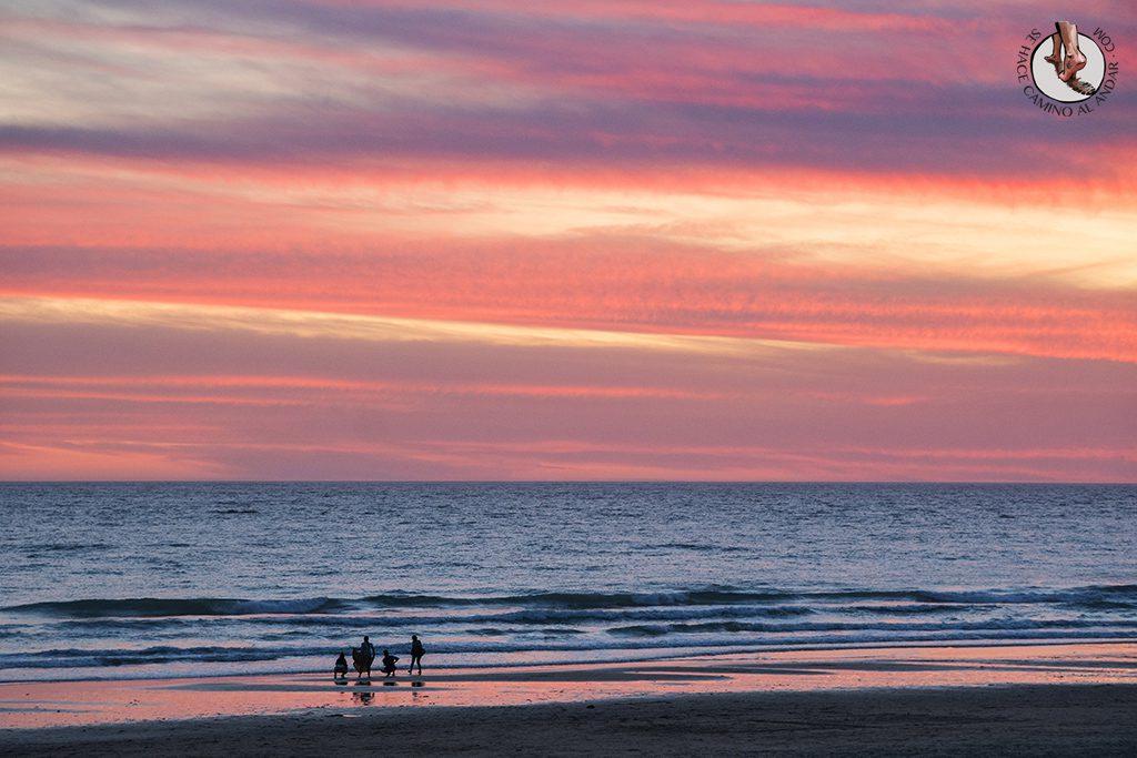 Vejer de la Frontera playa el palmar atardecer