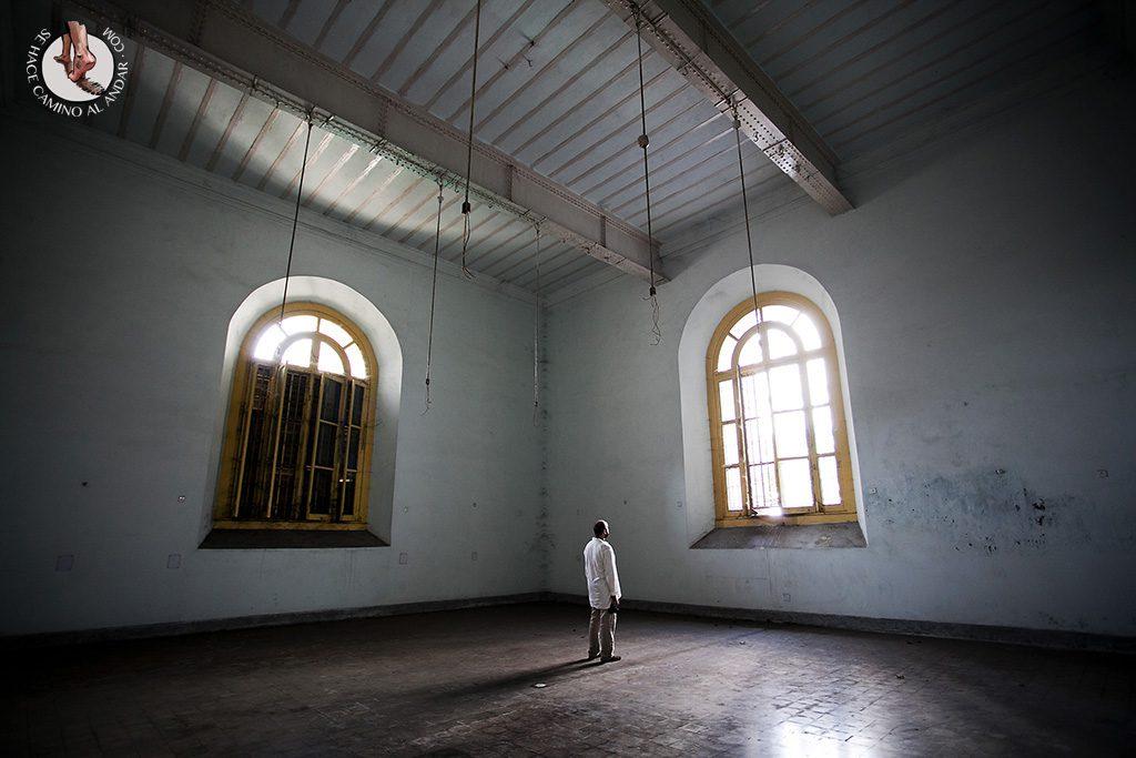 Ventanales del Indian Museum Calcuta