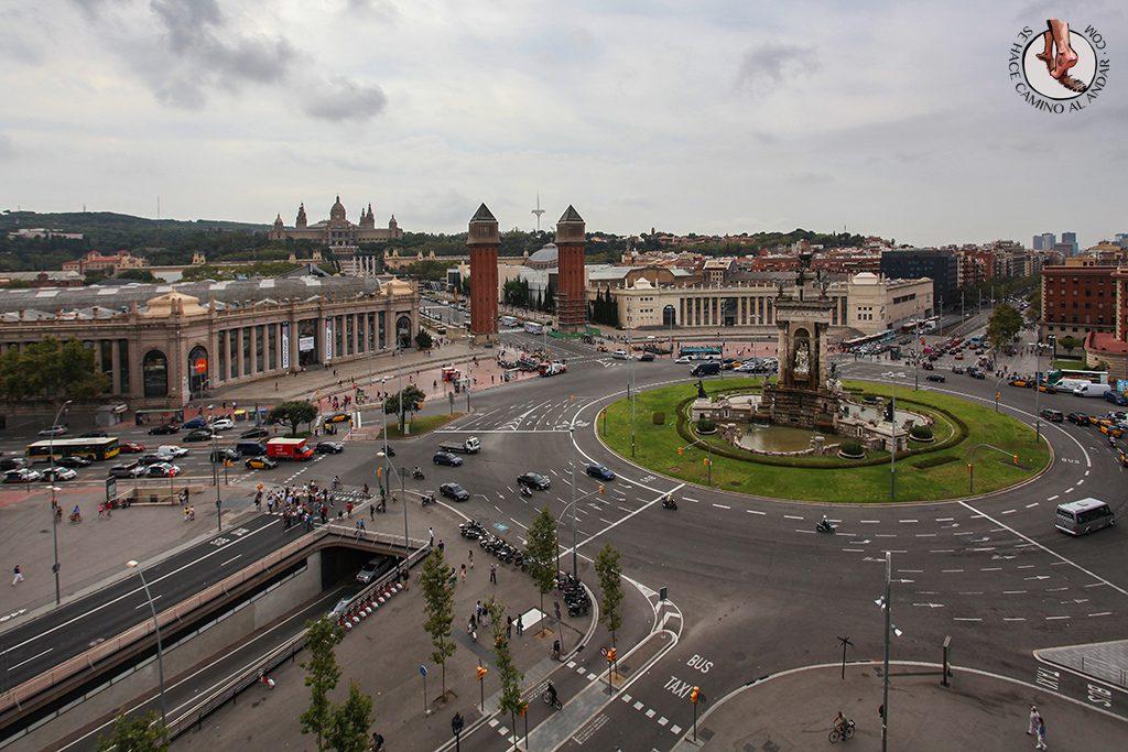 Vistas Plaza España Las Arenas Barcelona