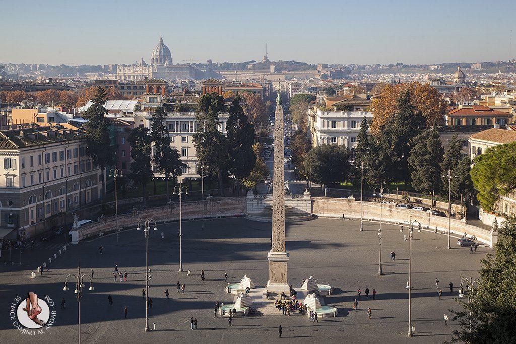 Vistas Plaza del Popolo