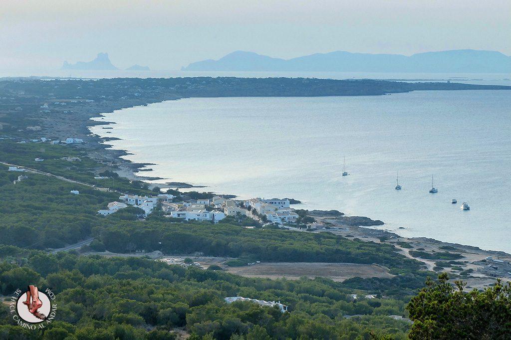 Vistas Restaurante Mirador Formentera