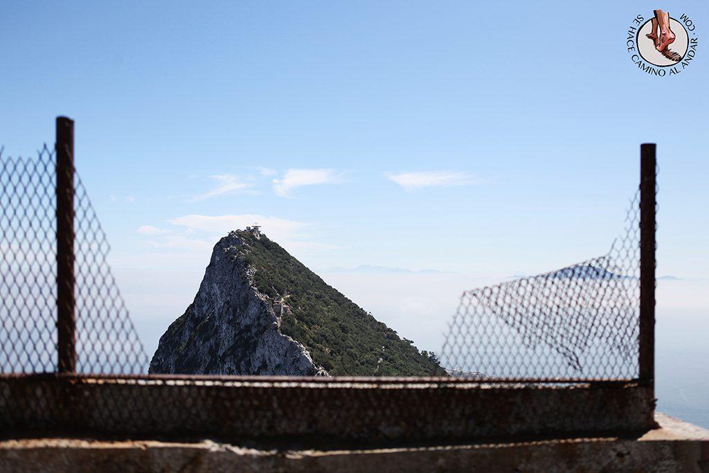 Vistas peñón Gibraltar
