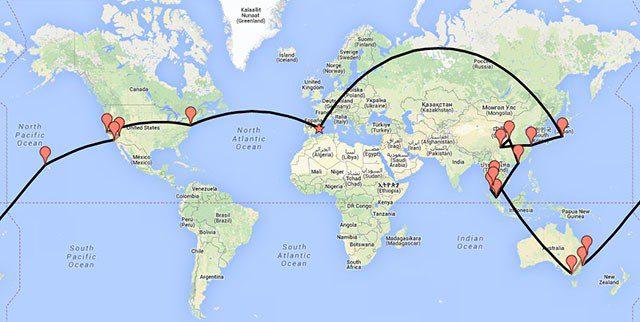 Viviendo de viaje ruta chalo84