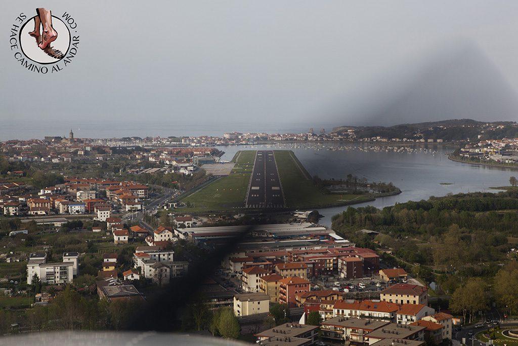 Vuelo en avioneta costa gipuzkoa aeropuerto hondarribia