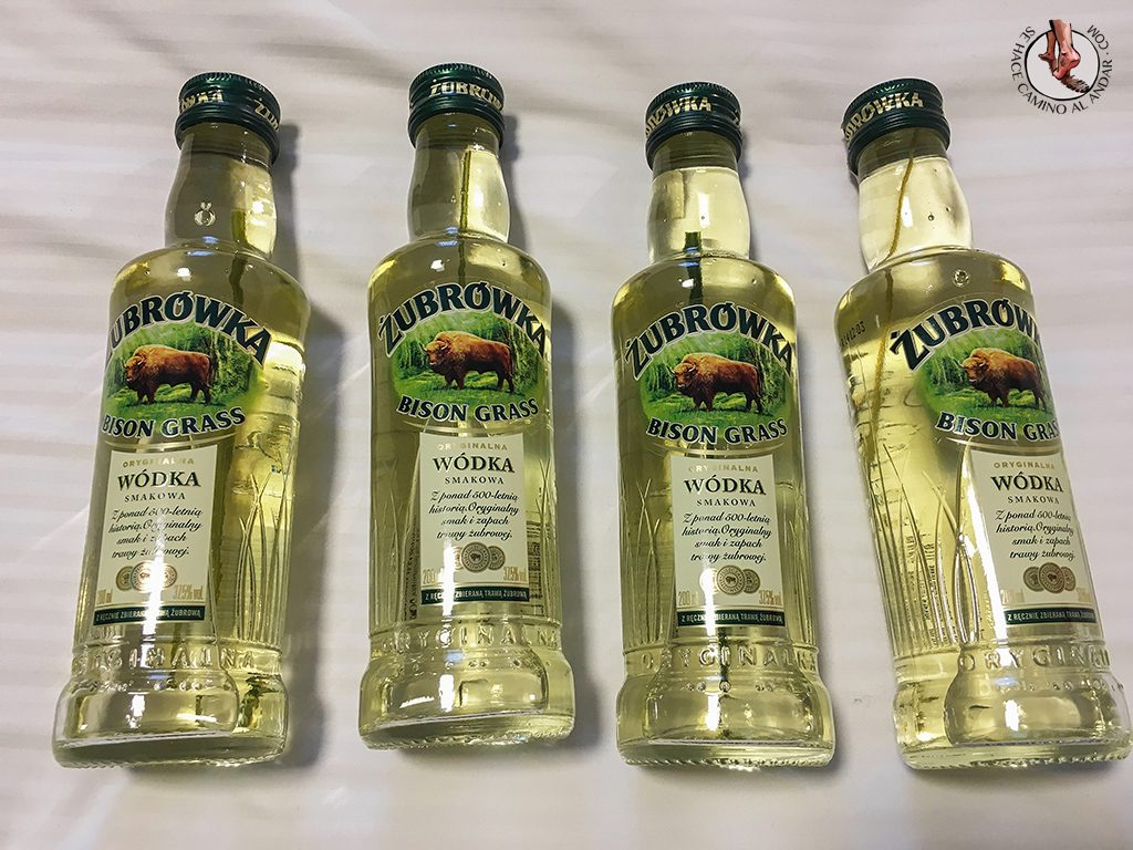 Zubrowka vodka cracovia