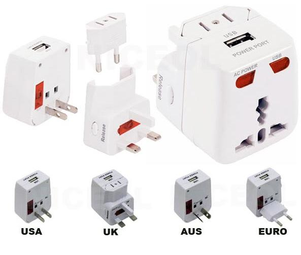 adaptador universal enchufe