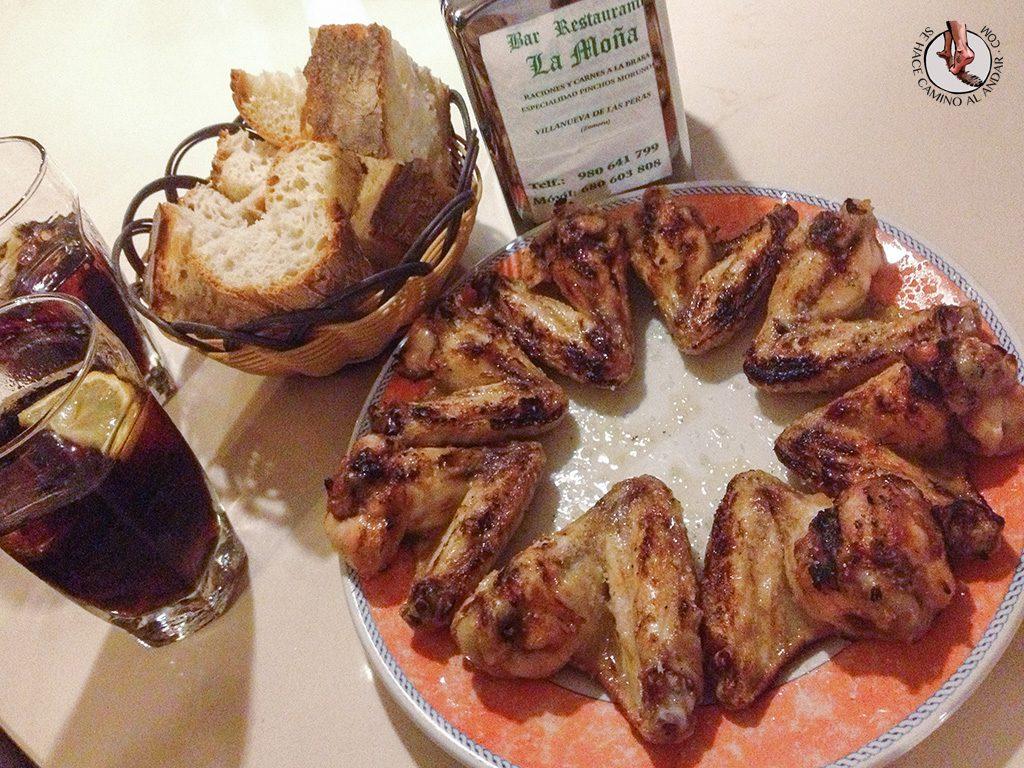 alitas pollo la mona villanueva de las peras
