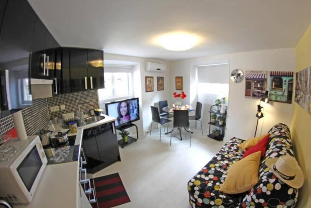 alojamiento madrid apartamento downtown