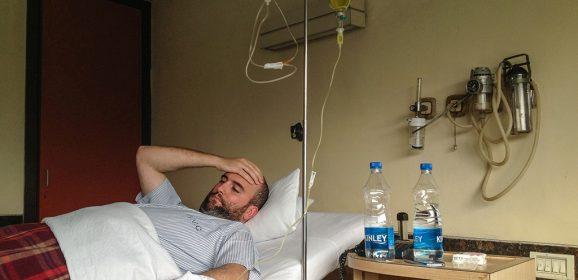 9 días ingresado en India por una infección en la vesícula