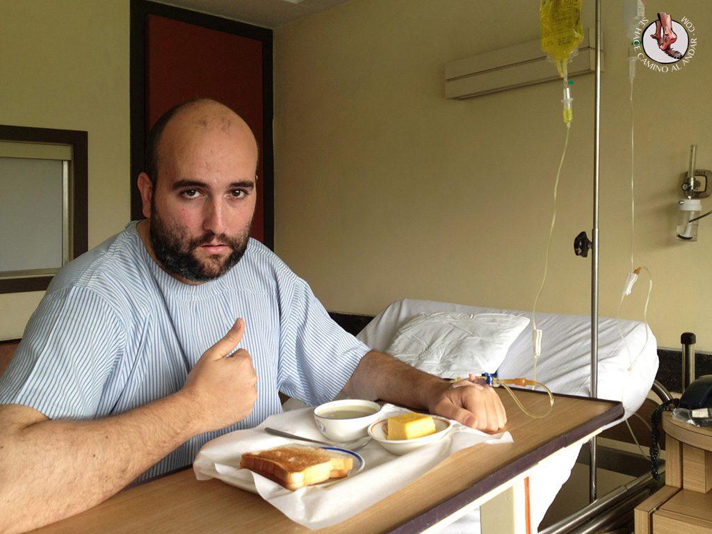 andoni segunda comida hospital india