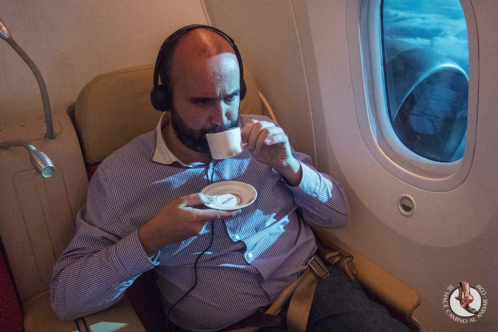 Andoni taza té boing 787 Dreamliner delhi
