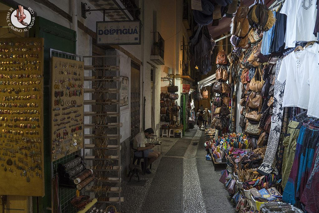 Calle teterías Granada