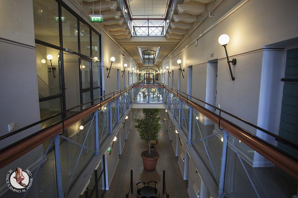 cárcel Estocolmo hostal 2 planta