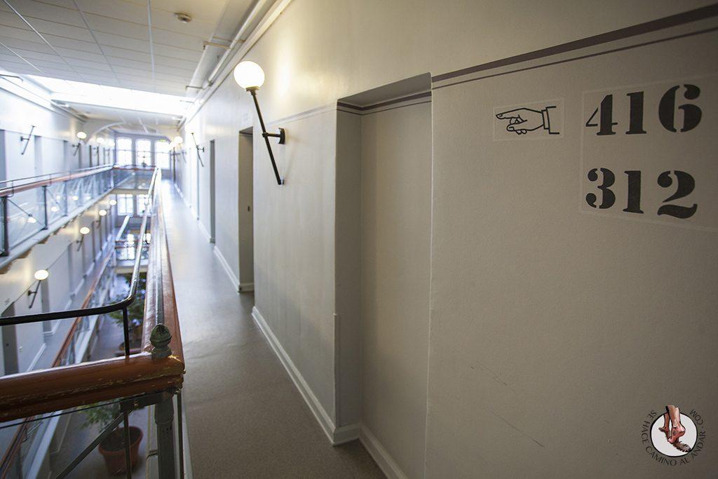 cárcel Estocolmo hostal habitaciones