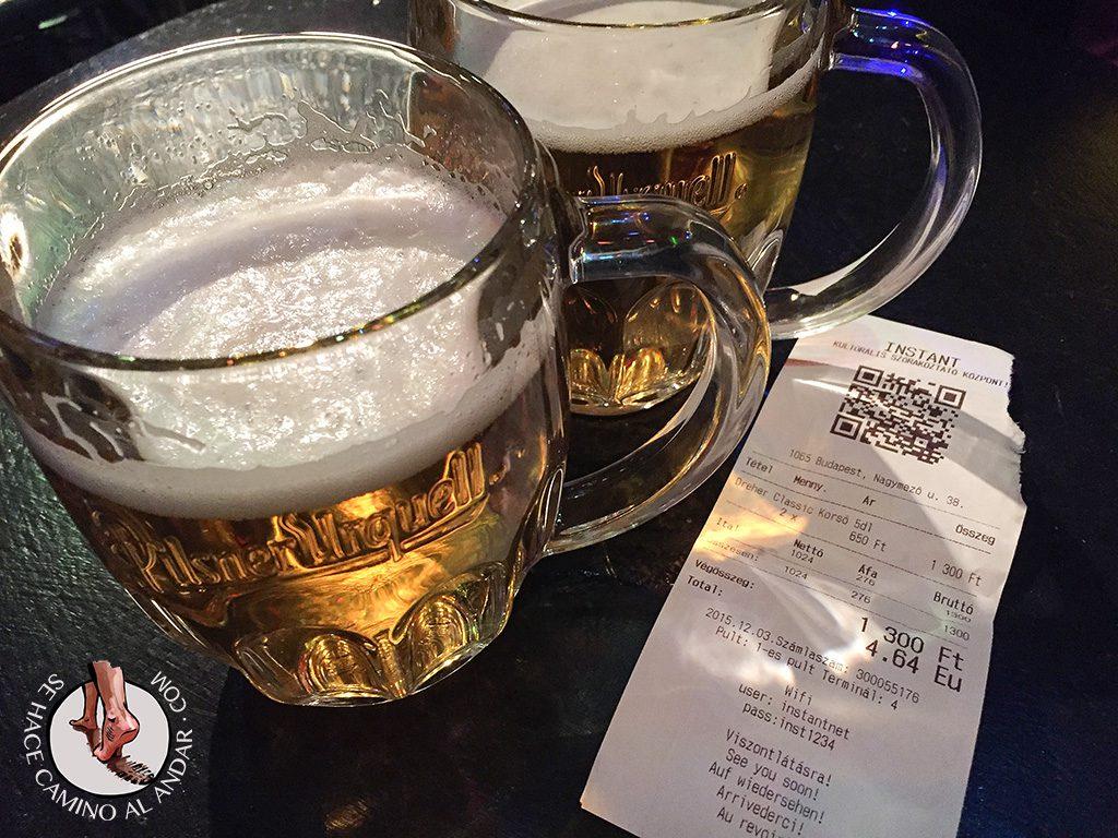 cerveza dreher beer budapest