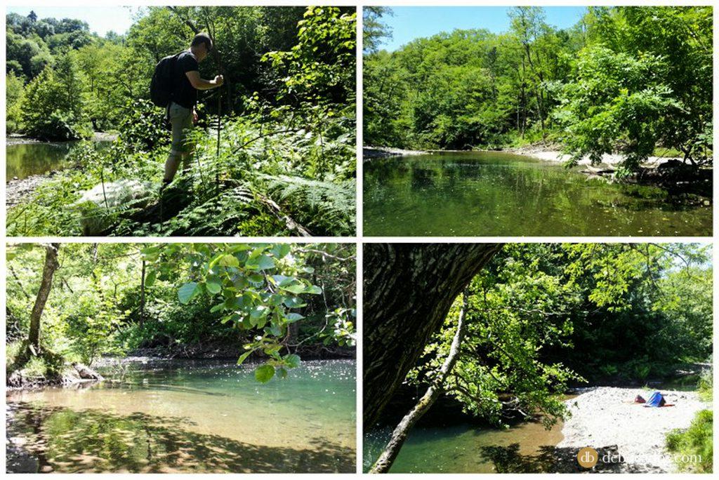 chapuzones rio urumea hernani pagoaga