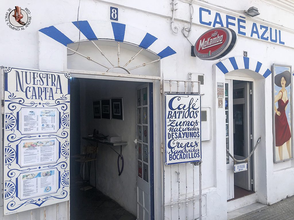 comer en tarifa cafe azul